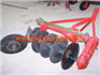 Driving disc plow