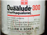 Phencyclidine Quaalude