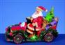 Christmas Train with Roation LED Wheels