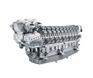 New 700kw-2720kw,1500-1600-1800-2000-2100rpm,MTU4000 large powerengine