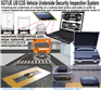 Vehicle Underside Inspection System with Video Function
