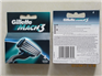 Gillette Mach3 razor blades of 4pack Multi-language