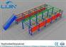 Multi Tire Mezzanine Shelving Metal Rack In Warehouse Storage To Save