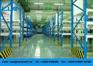 Collapsible Medium Duty Metal Warehouse Storage Racks with multi leve