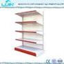 Double Sided or Single Sided Metal Supermarket Shelf Display Racks fo