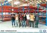 Warehouse Heavy Duty Metal Storage Racks Corrosion Protection