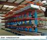 Industrial Workshop Space Saving Cantilever Storage Racks With Multi