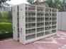 Assemble Lockable Multi-Level Q235B Steel Mobile Filing Cabinet shelv