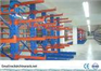 Warehouse Cantilever Storage Racks with multi levels , 300KG--2500KG