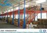 2 - levels Industrial Mezzanine Floors Steel Platform For Printing /
