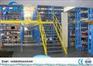 Durable Steel board Warehouse Storage Rack Supported Mezzanine Floor