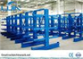 Length 500-1200mm Arm Metal Cantilever Storage Racks double sided
