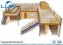 Attic rack Steel Multilevel Floor Rack Supported Mezzanine Save space