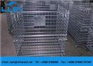 Conveniently assembling Steel Wire Mesh Storage Cages for warehouse