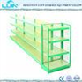 5 levels Metal Gondola Supermarket Display Racks for Grocey Storage