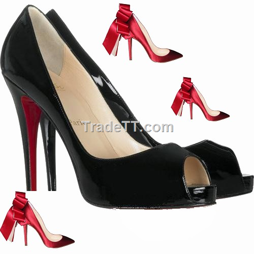 12cm Pigalle Christian Louboutin women student shoes