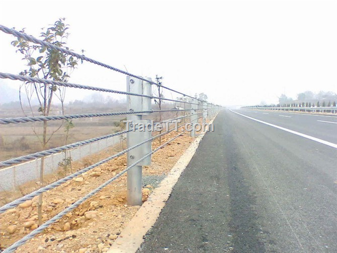 Steel wire rope fence china