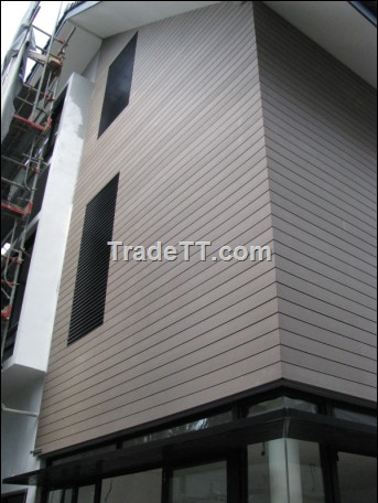 Exterior wall material wood plastic material china exterior wall material wood plastic Plastic exterior wall cladding