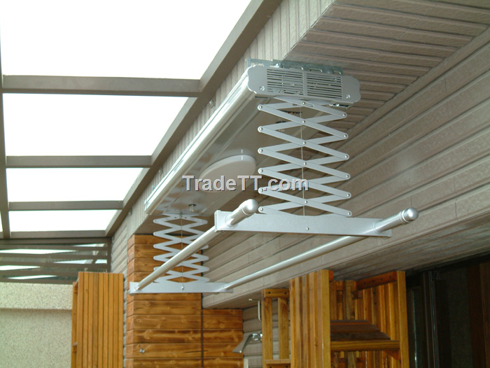 Outdoor electric remote clothes drying rack - China ...