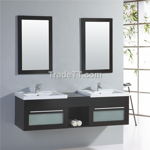 Double basin bathroom vanity - China Double basin bathroom vanity ...