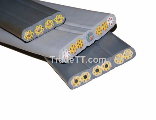 Elevator Travelling Cable : Chinese flat traveling cable for elevator