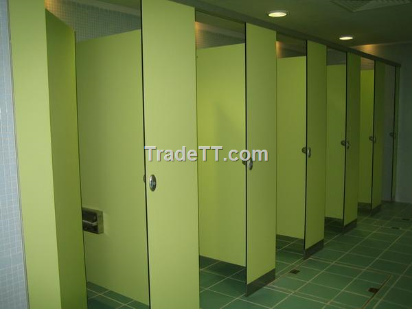 Solid Phenolic Core Spc Toilet Partitions China Solid Phenolic - Phenolic bathroom partitions