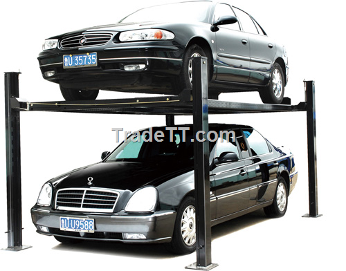 Car lift auto lift garage lift parking lift 2 post lift 4 for Equipement complet garage auto