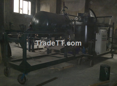 Used motor oil refinery machine to convert waste oil to for Waste motor oil to diesel