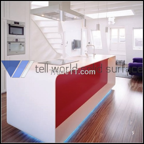 Modern Acrylic Solid Surface Kitchen Counter China Modern Acrylic Solid Surface Kitchen