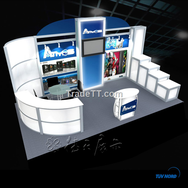 Simple Exhibition Stall : Simple exhibition booth design m china
