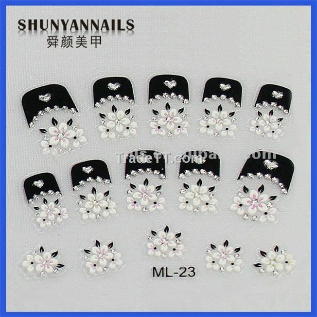 2012 wholesale nail art stickers - China 2012 wholesale nail art ...