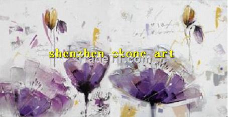 Purple poppy flower abstract oil paintings china purple poppy purple poppy flower abstract oil paintings mightylinksfo