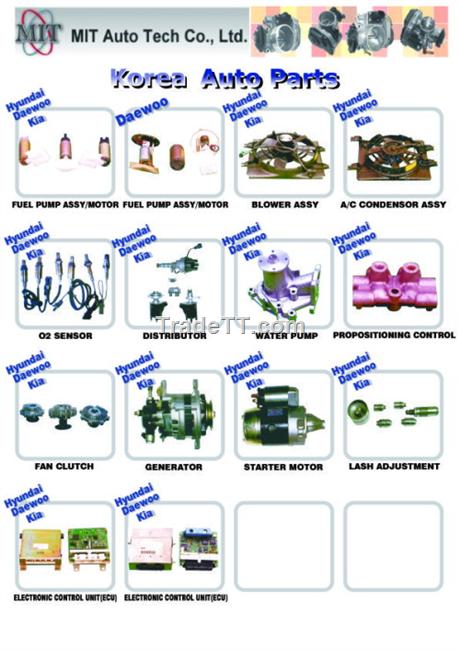Korea Auto Parts - China Korea Auto Parts Supplier,Factory