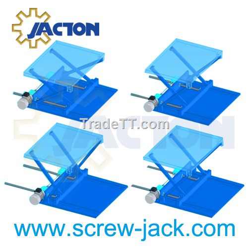 jack screw driven scissor lifting mechanism - China jack