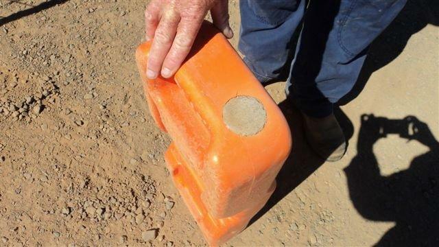Concrete Fill Hole