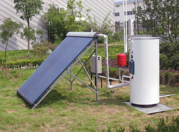CE Certified Copper Coil Split Pressurized Solar Hot Water Heater & Home Solar System